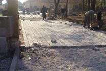 V meste Veľký Krtíš pokračuje rozsiahla obnova ciest, parkovísk a chodníkov